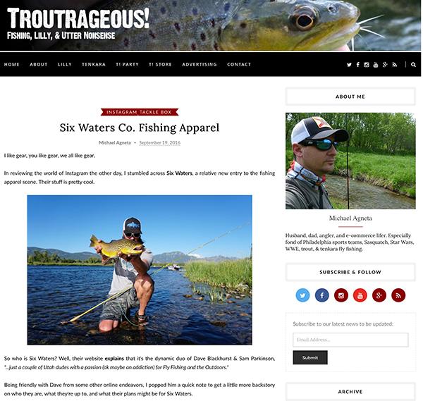troutrageous