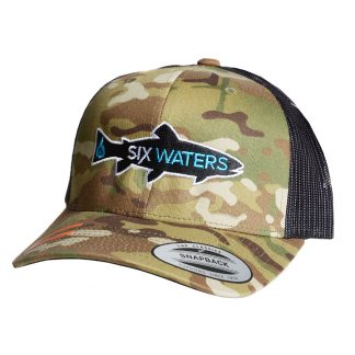 ... Camo Fish Logo Trucker Hat  25.00  Camo Drop ... c99ae7e05eed